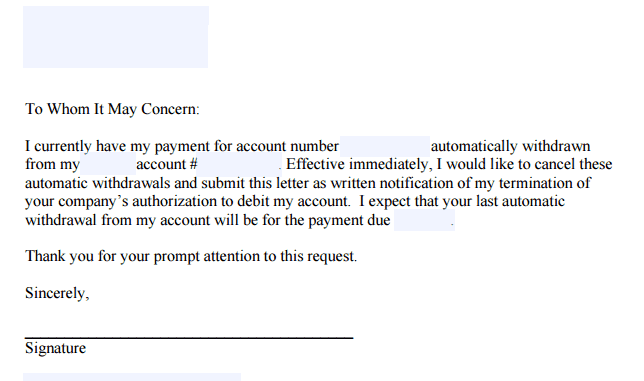 paypal how to cancel automatic payment