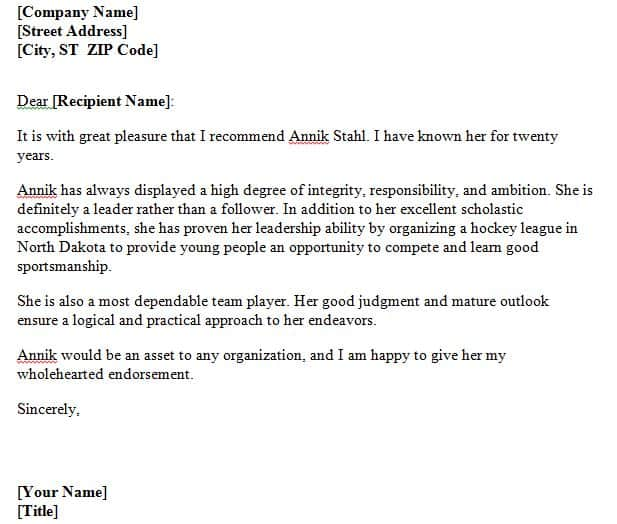A Good Recommendation Letter.4 Recommendation Letters For Citizenship Find Word Letters
