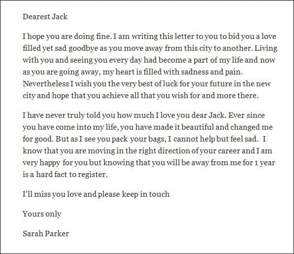 Heart Touching Love Letter from www.findwordletters.com