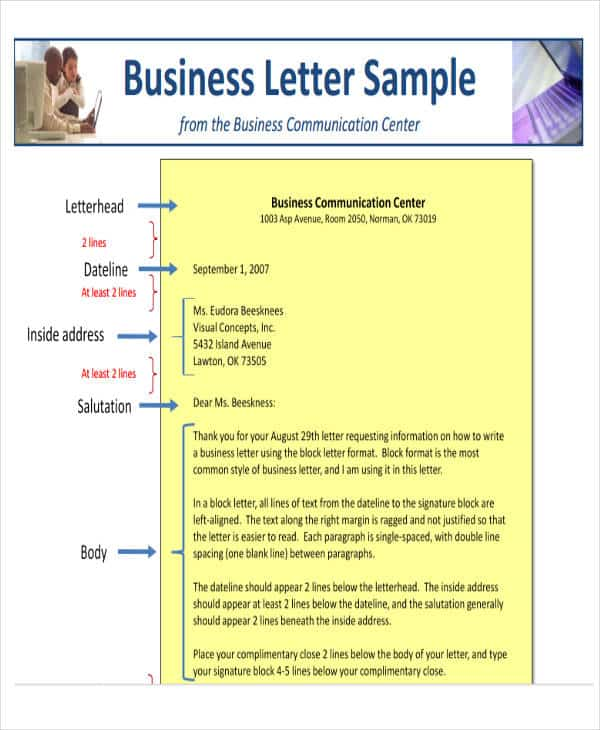 Spacing For Business Letter from www.findwordletters.com