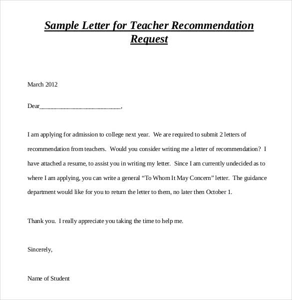 Writing A College Recommendation Letter from www.findwordletters.com